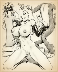 New porn drawings - Jessica Rabbit is insatiable slut! - Adult Toons Jessica Rabbit