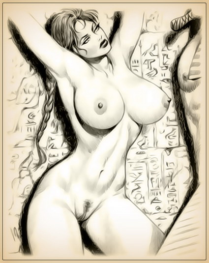 Big Tits drawings - nude Lara Croft