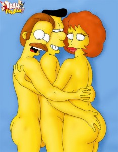 The Simpsons xxx drawing