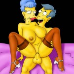 The Simpsons xxx drawing - Adult Toons Simpsons porn
