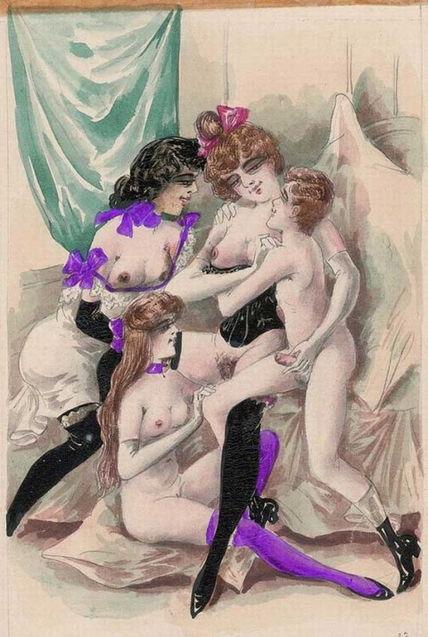 Vintage Cartoon sex images