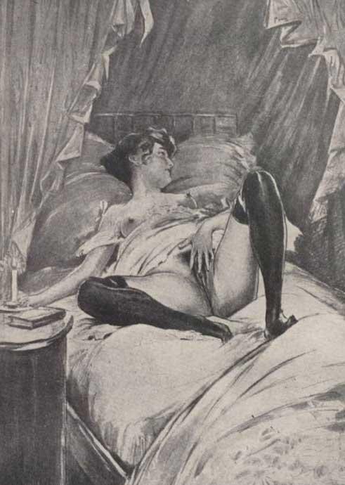 Retro sex art