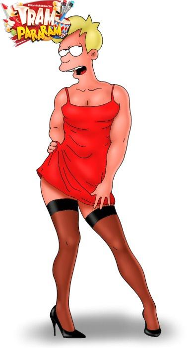 Drag queen - Adult Toons Futurama XXX